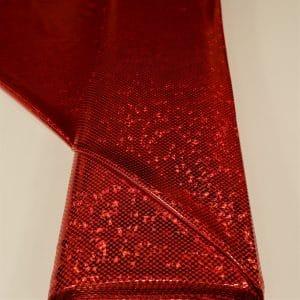 57.07204.020 Lycra Puntje Hologram Groot rood