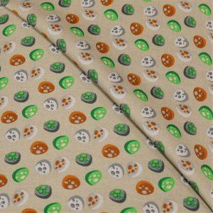 57.10618.062 Katoen Stones lichtgrijs